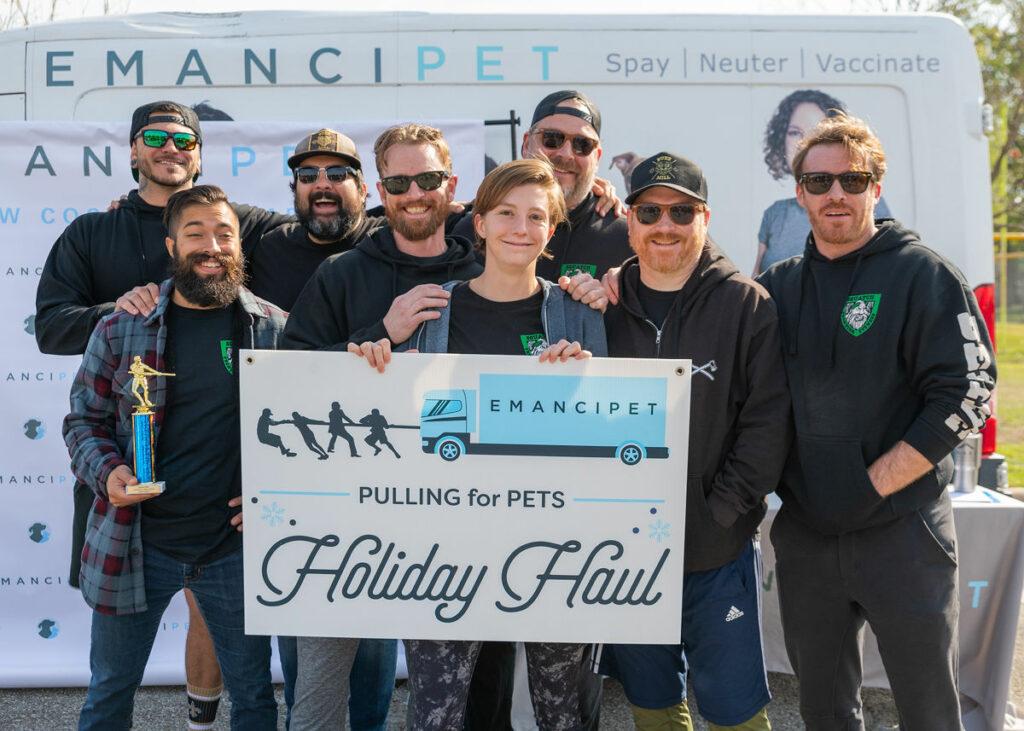 Pulling for Pets - Emancipet Low Cost Vet Clinics
